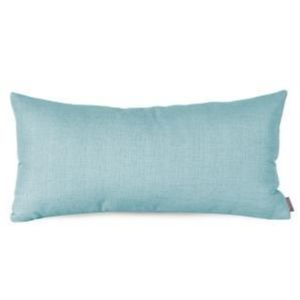 New Howard Elliot Sterling Blue Lumbar Pillow